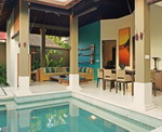 Ahimsa Beach - Pool & Living Area