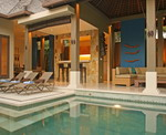 Ahimsa Beach - Living Area & Pool