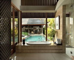 Ametis Bali Villa - Bathtub with Access to Pool