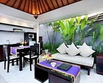 Aria Exclusive Villas & Spa - Living & Dining area