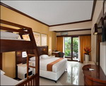 Bali Garden Beach Resort - Family Room