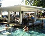 Bali Garden Beach Resort - Swim-up Bar