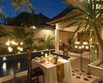 Bhavana Private Villas - Romantic Dinner